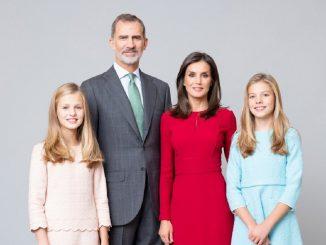 La Familia Real española publica las nuevas fotos oficiales