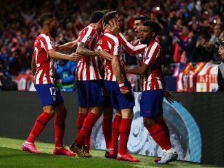 El Atlético de Madrid gana a los campeones del Liverpool 1-0