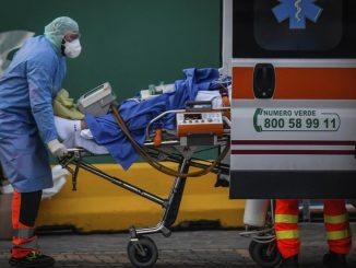 Récord para España: 514 muertos en un día por Coronavirus