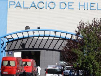 Coronavirus, el Palacio de Hielo de Madrid se convierte en morgue