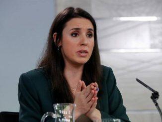 Irene Montero, la ministra da positivo por Coronavirus