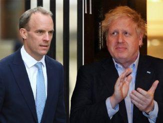 Dominic Raab Boris Johnson