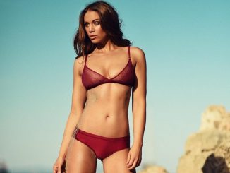 Emma Frain la modelo británica que triunfa con su belleza