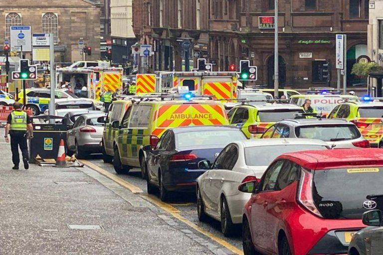 El ataque de hoy en Glasgow