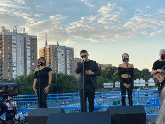 Alejandro Sanz inaugura el Puente del Corazón Partío con un concierto