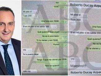 Dimisión Ducay escándalo sexual