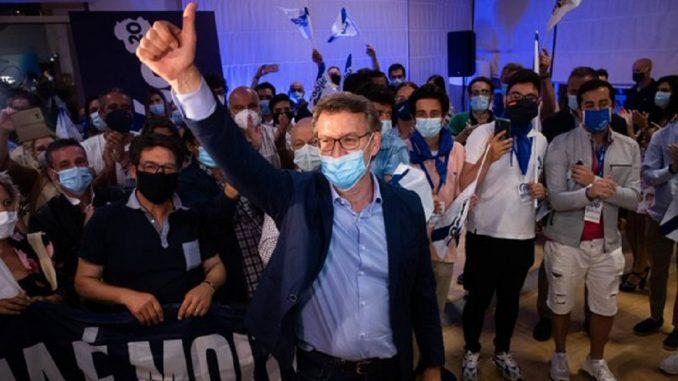 Feijóo y Urkullu reafirman su liderazgo en Galicia y Euskadi