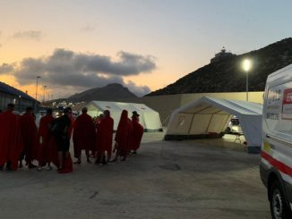 Inmigrantes procedentes de Canarias detenidos en Valencia