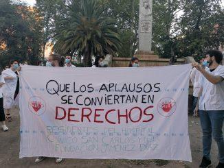 Los MIR de Madrid comienzan una huelga para mejorar sus condiciones.