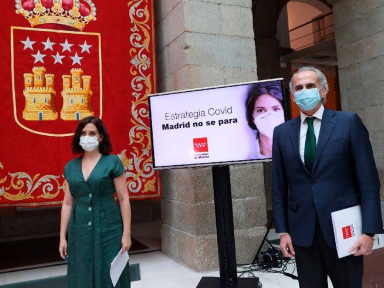 Gobierno de Madrid anuncia una serie de medidas para frenar el coronavirus.