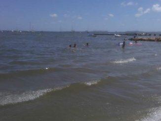 El Coronavirus y la contaminación vacían las playas del Mar Menor