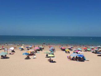 Playa española referente COVID-19