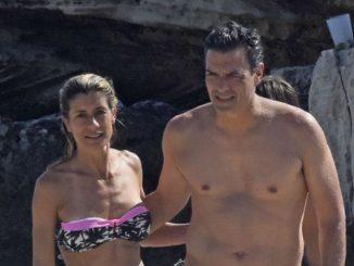 Sanchez y su mujer de vacaciones en una foto de archivo