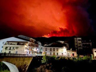 Incendio Valle del Jerte