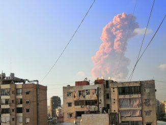 Líbano explosión Beirut