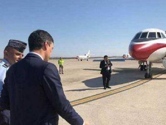Pedro Sánchez se va en Falcon de vacaciones en medio de crisis