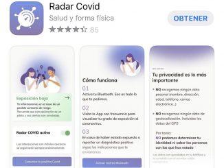 La app Radar COVID está a punto de llegar