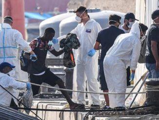 Sicilia ordena la salida inmediata de los inmigrantes