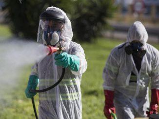 Fumigación en Andalucia para frenar el virus del Nilo