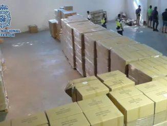 Material sanitario robado en Madrid