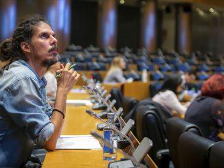 La Fiscalía pide seis meses de cárcel para Alberto Rodríguez