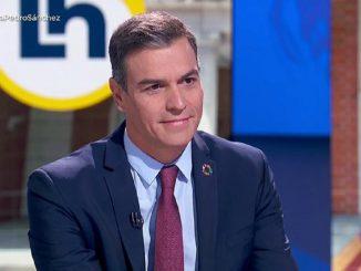 Estreno de «La hora de la 1″(TVE) con entrevista a  Pedro Sánchez