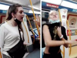 Libertad para las 2 menores detenidas por agresión racista en metro