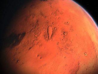 Agua en Marte: detectan lagos de agua salada en el planeta