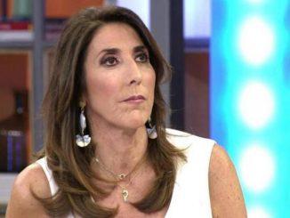 Paz Padilla reapareció el sábado en Sálvame Deluxe para hablar de la muerte de su marido