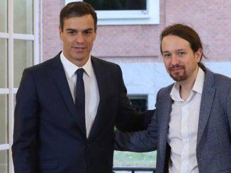 Sánchez pide perdón a Iglesias por no informarle de la marcha del Rey