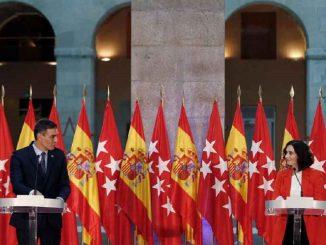 Medidas de la reunión entre Sánchez y Ayuso