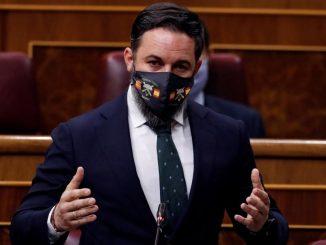 """Según Santiago Abascal, Sánchez """"es peor"""" que Franco."""