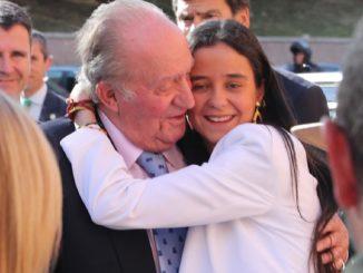 Victoria Federica harta de las preguntas sobre Juan Carlos I