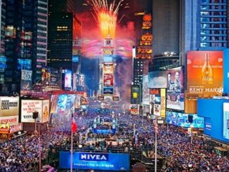 El año nuevo en Times Square es virtual por el coronavirus