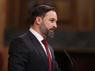 Santiago Abascal: «Traicionado e indignado» con el discurso de Casado