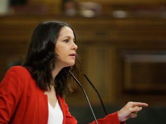 Inés Arrimadas rechaza la propuesta de Casado