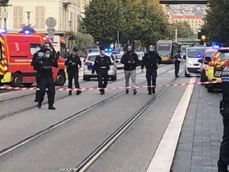Ataque con cuchillo junto a la iglesia de Niza