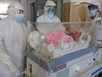 Ingresado un bebé recién nacido con coronavirus en Ceuta
