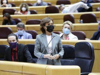 Calvo no asiste a moción de censura por malestar tras vacunarse