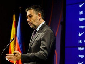 Dimite el presidente del FC Barcelona, Josep Maria Bartomeu