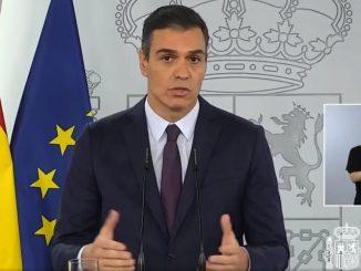 Pedro Sánchez: afirma tres millones de contagios en España
