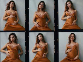 La modelo Emily Ratajkowski anuncia su embarazo
