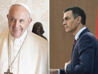 Pedro Sánchez viaja al Vaticano para un encuentro con el Papa