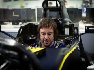 Fernando Alonso volverá a la Fórmula 1 en el «filming day» con Renault