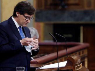 Salvador Illa defiende el estado de alarma de seis meses