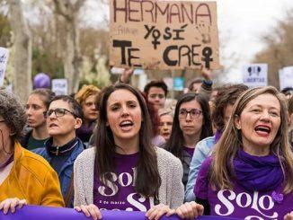 Irene Montero anuncia la derogación de la Ley del Aborto de 2015