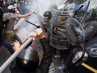 El cierre de locales comerciales provoca disturbios en Italia