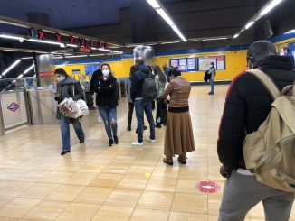 El Metro de Madrid planea cerrar antes debido al toque de queda