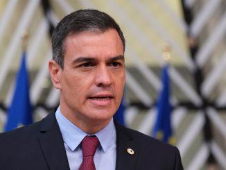 Abucheos a Pedro Sánchez en el acto del 12 de octubre
