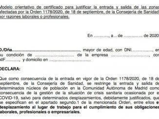 Documentos que sirven para desplazarse entre municipios